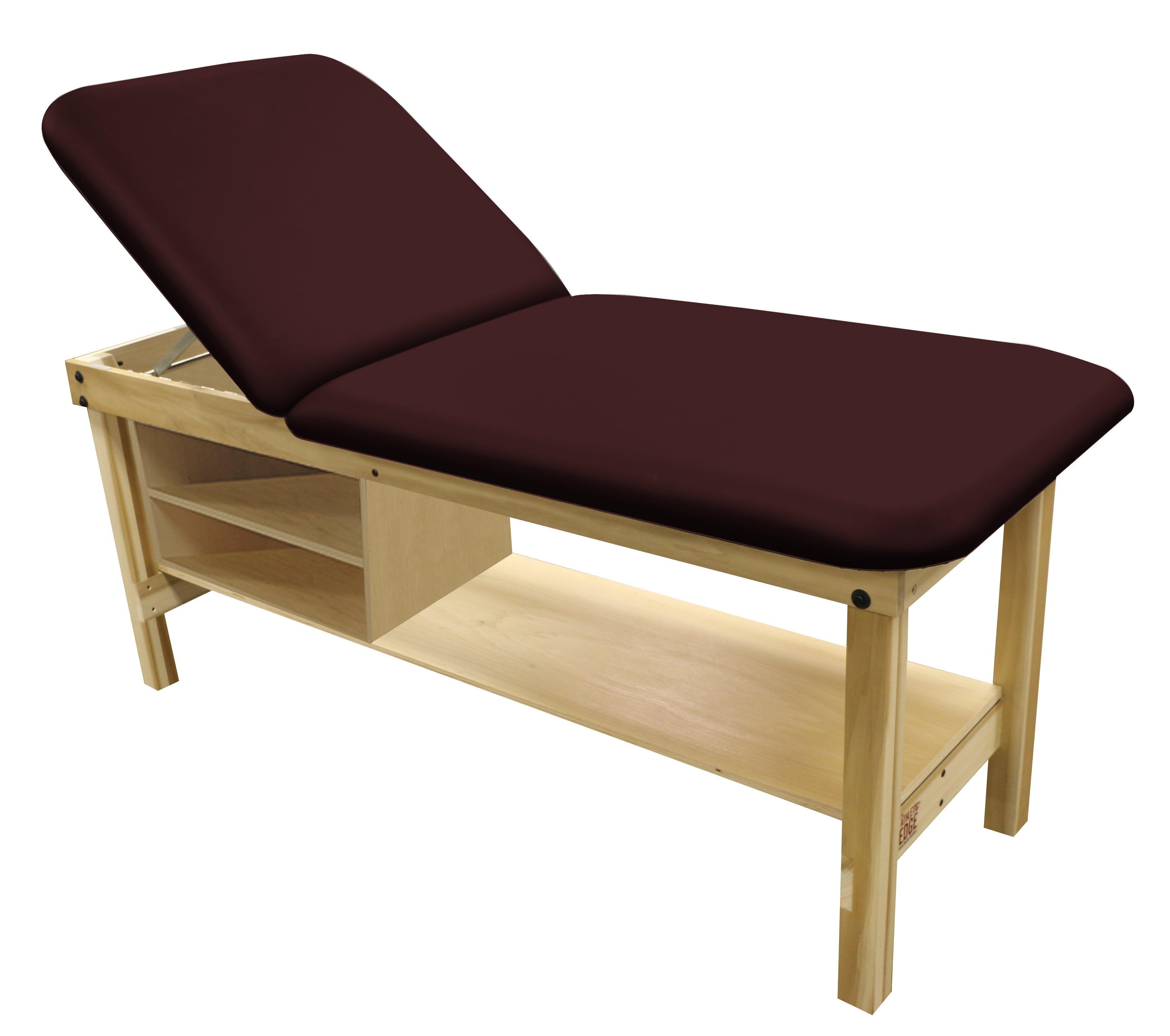 Poplar Table-(Lift-Back-Bottom-Shelf-Drawer-Cubby-Head-Burgundy)[1]